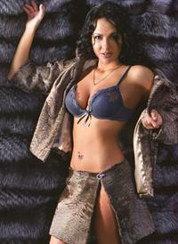 Elena Berkova in lingerie