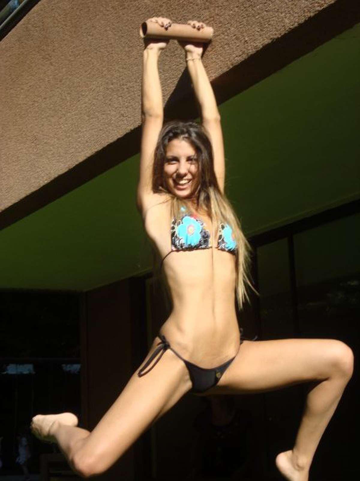 Cinthia Fernandez in a bikini