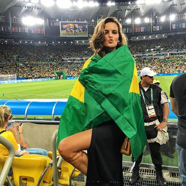 Izabel Goulart in Rio Olympics