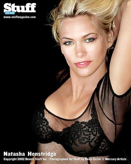 Natasha Henstridge in lingerie