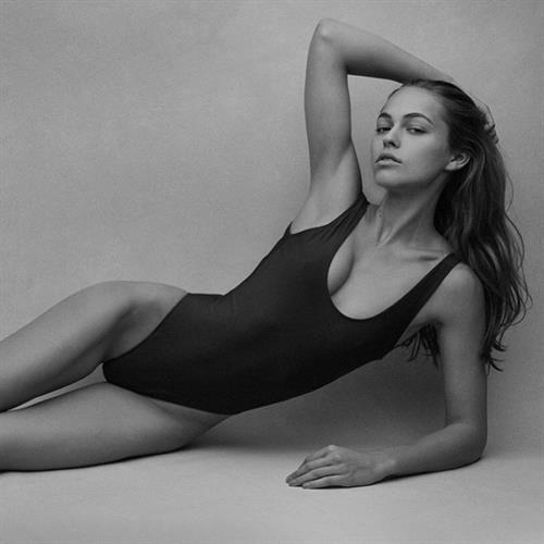 Caroline Kelley in a bikini