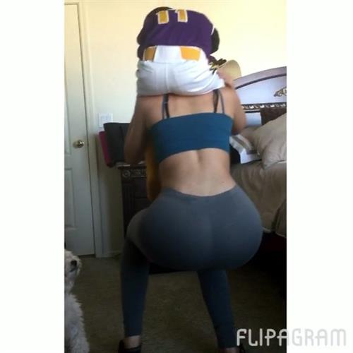 Jailyne Ojeda Ochoa in Yoga Pants - ass