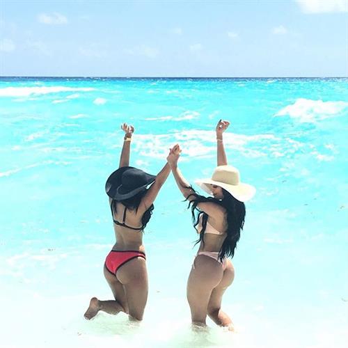 Jailyne Ojeda Ochoa in a bikini - ass
