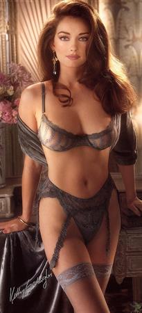 Kelly Gallagher in lingerie