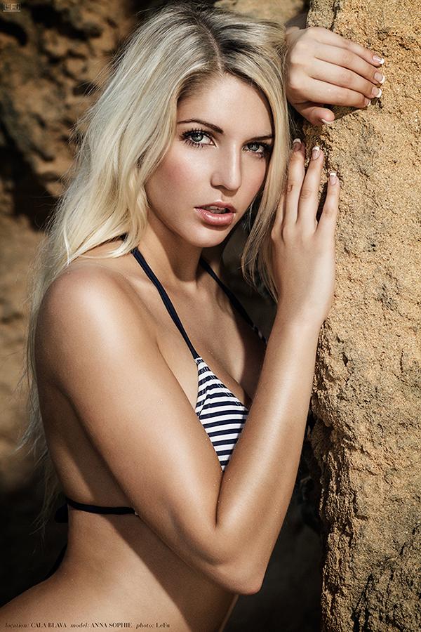 Anna Sophie Repnik in a bikini