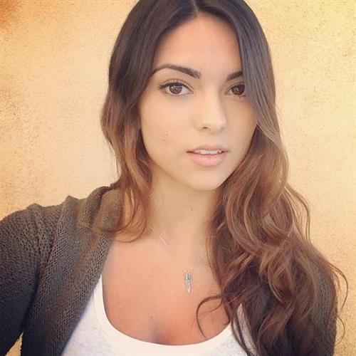 Kyra Santoro taking a selfie