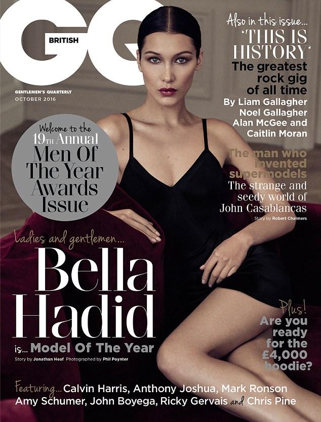 Bella Hadid cover