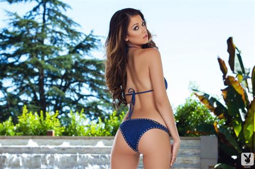 Ali Rose in a bikini - ass
