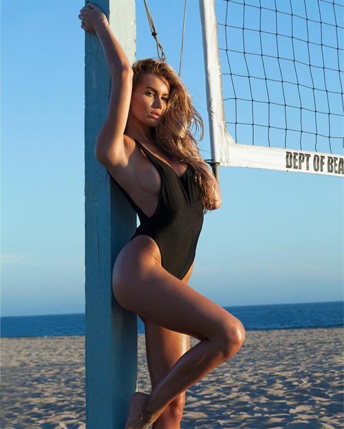 Anella Miller in a bikini