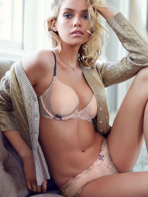 Stella Maxwell in lingerie