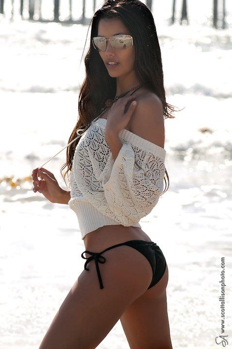 Tiffany Keller in a bikini - ass