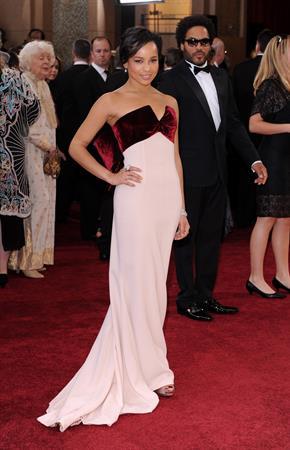 Zoe Kravitz at the 82 annual Academy Awards