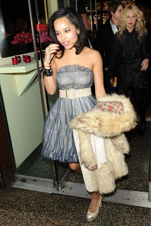 Zoe Kravitz at the 9th annual Tribeca Film Festival