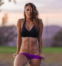 Tianna Gregory in a bikini