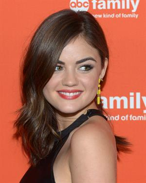 Actress Lucy Hale at the ABC Family West Coast Upfronts party at The Sayers Club on May 1, 2012 in Hollywood, California.