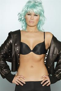 Patricia Conde in lingerie
