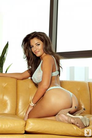 Jessica Workman naked on the couch
