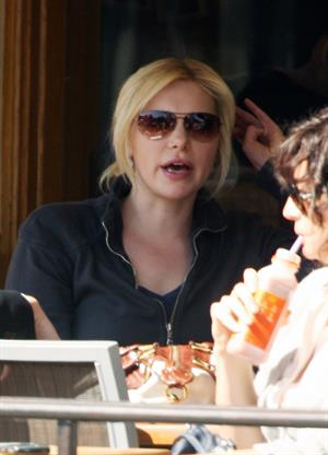 Laura Prepon at The Coffee Bean in Beverly Hills April 7, 2009