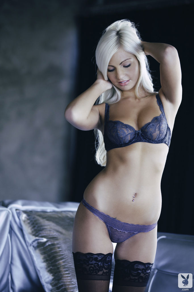 Miranda Jordan in lingerie