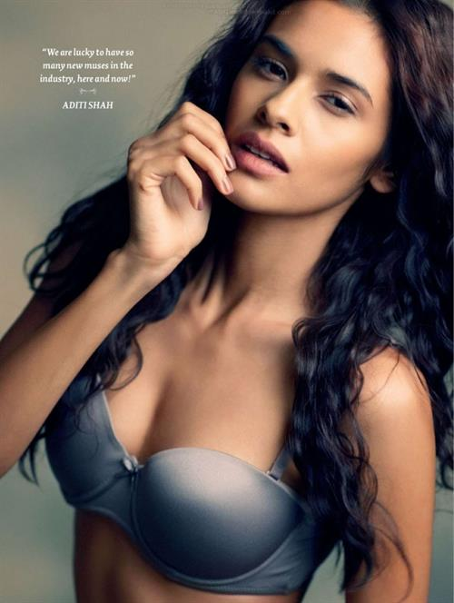 Nidhi Sunil in lingerie