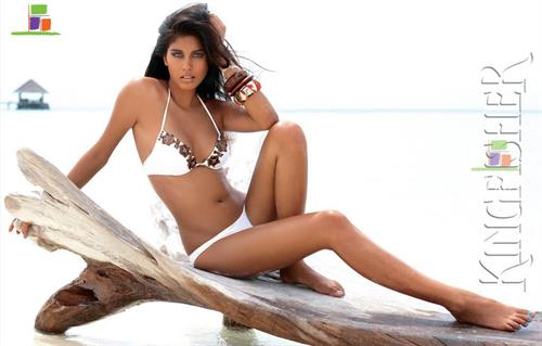 Ashika Pratt in a bikini