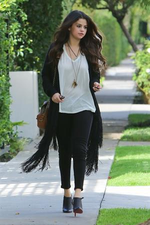 Selena Gomez West Hollywood December 13, 2012
