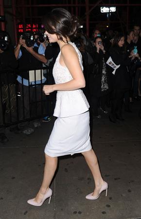 Selena Gomez at the Glamour Women of The Year awards New York November 12, 2012