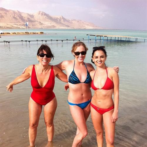 Rachael Leigh Cook in a bikini