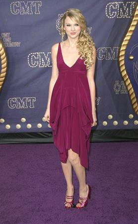 Taylor Swift at the 2008 CMT Music awards in Nashville