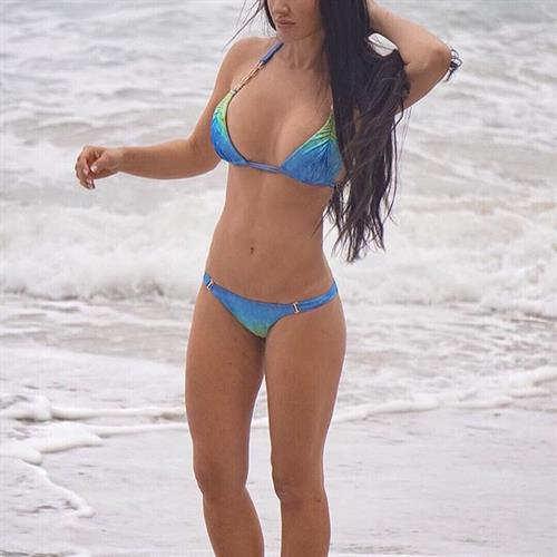 Kristina Basham in a bikini