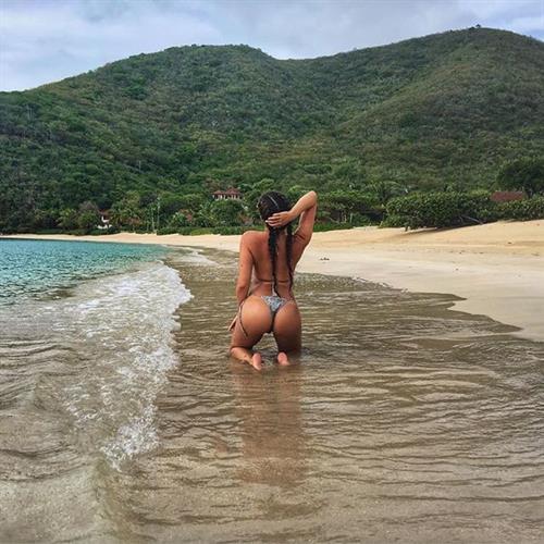 Jessica Rose Jones in a bikini - ass