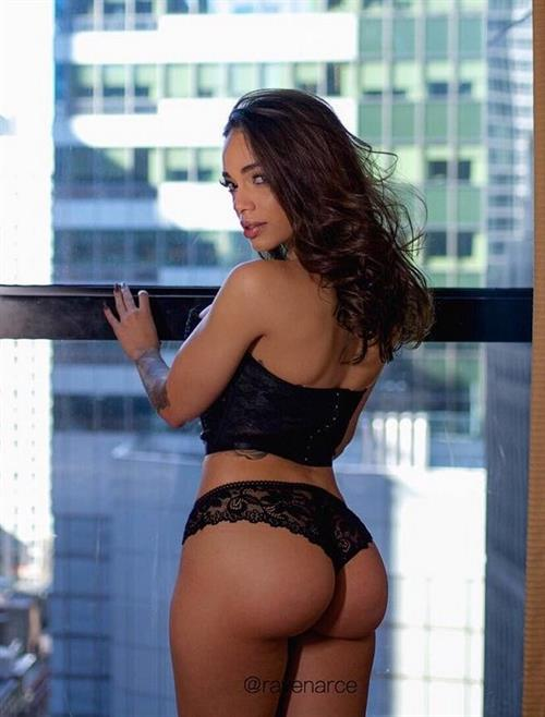 Raven Arce in lingerie - ass