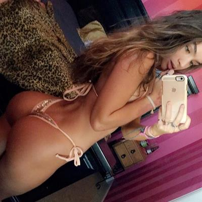 Sommer Ray in a bikini taking a selfie and - ass