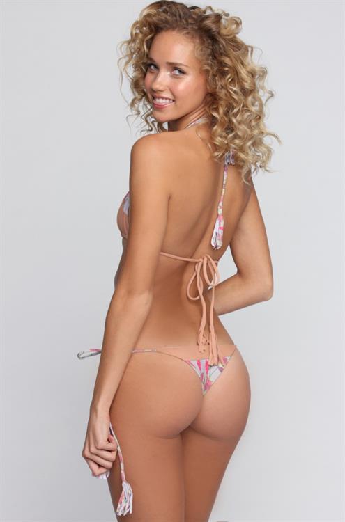 Allie Silva in a bikini - ass