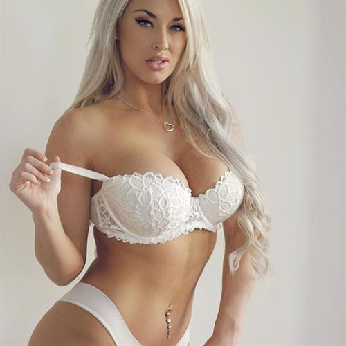 Laci Kay Somers in lingerie