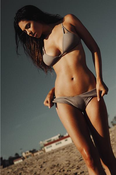 Christen Harper in a bikini