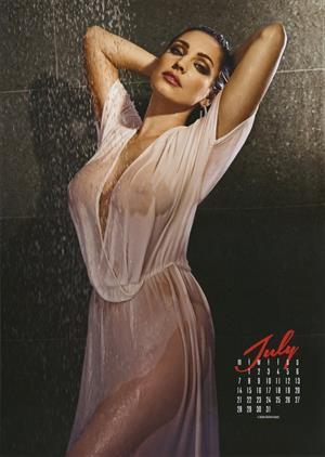 Kelly Brook 2014 Calendar
