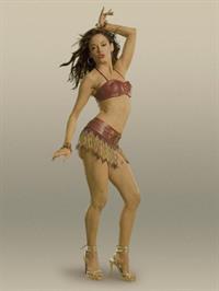 Rose McGowan in a bikini