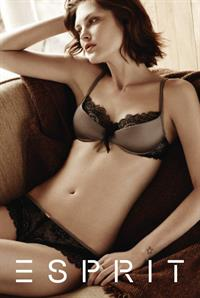 Catherine McNeil in lingerie