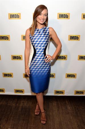Olivia Wilde Receives IMDb's First-Ever  STARmeter Award  At TIFF 2013 - September 9, 2013