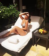 Elise Irvine in a bikini