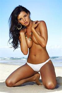 Siobhan Parekh in a bikini