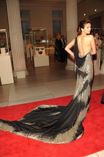 Nina Dobrev Metropolitan Museum of Arts Costume Institute Gala 07 05 12