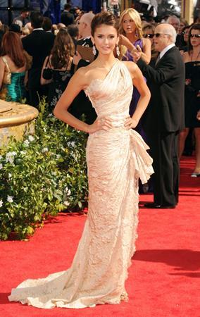 Nina Dobrev 62nd Annual Primetime Emmy Awards on August 29, 2010