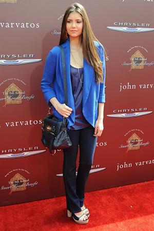 Nina Dobrev 9th annual John Varvatos Stuart House benefit in Los Angeles 11-3-2012