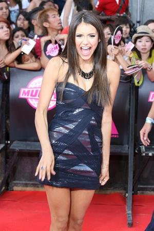 Nina Dobrev 21st annual Much Music video awards on June 20, 2010 in Toronto