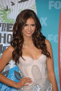 Nina Dobrev 2010 Teen Choice awards at Gibson Amphitheatre on August 8