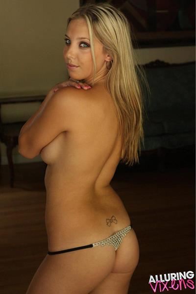 Lauren in lingerie - ass