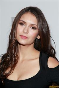Nina Dobrev backstage at Christian Sirianos Fall 2012 show in New York City 11-2-2012
