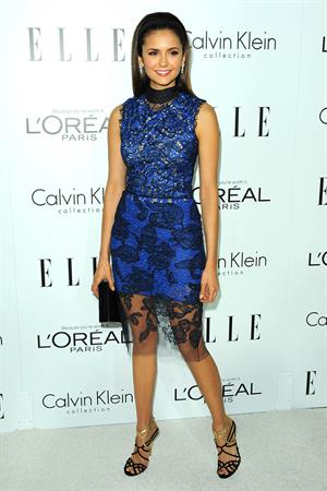 Nina Dobrev Elle's Women in Hollywood event in Beverly Hills 10/15/12